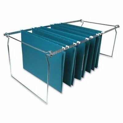 Business Source Hanging File Folder Frame, Letter, Stainless Steel (BSN60529) Hanging Framed Letter