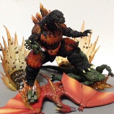 Godzilla Monster in Crimson Fire Mode Red Fin Kaiju 8.3