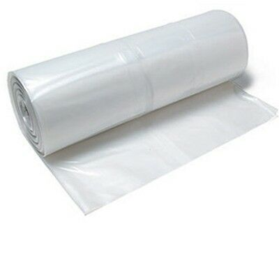 Clear Plastic Poly Plastic Sheeting 20 X 100 6 Mil Visqueen Roll