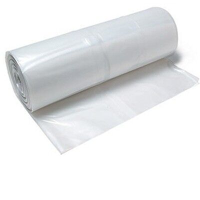 Plastic Poly Plastic Sheeting 20 X 100 6 Mil Visqueen Roll