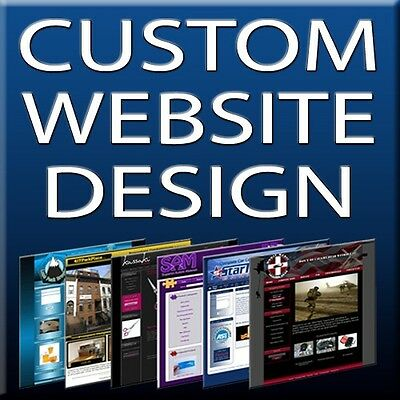10 PG CUSTOM WEBSITE DESIGN PACKAGE + FREE CMS & STORE!