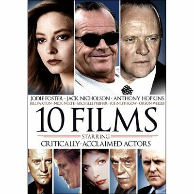 10-Films Featuring Critically Acclaimed Actors DVD Ben Kingsley, Jack Nicholson