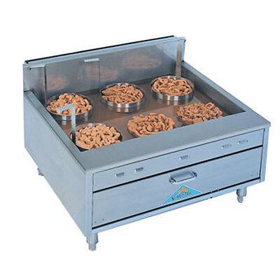Comstock Castle 2932sf 32 Countertop Flat Bottom Funnelcake-doughnut Gas Fryer
