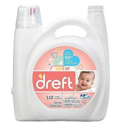 Dreft HE Liquid Laundry Detergent - 170 oz. - 110 loads |NO SALES TAX|