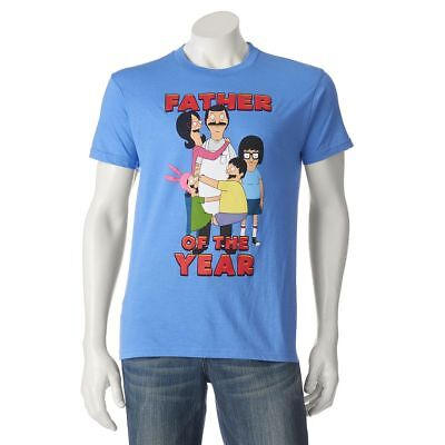 NWT Men's Bob's Burgers Father of Year Tee T Shirt M L XL XXL DAD Day Gift! ](Bobs Burgers Gifts)