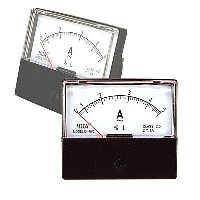 Ac 0-5a Analog Current Panel Meter