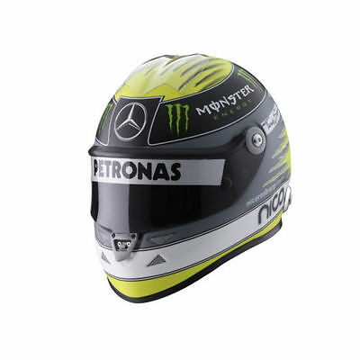 Nico Rosberg 1:2 Miniatur Helm / Helmet  Schuberth 2011 9081001122