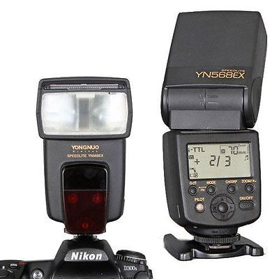 Yongnuo YN-568EX TTL High Speed Sync 1/8000s Flash Speedlite for Nikon Camera US