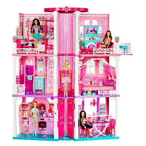 Barbie House with elevator