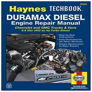 NEW The Haynes Duramax Diesel Engine Repair Manual - Killingsworth, Jeff/ Haynes