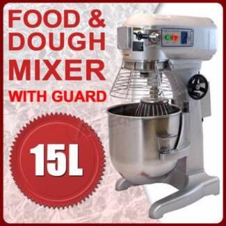 15 litre COMMERCIAL DOUGH MIXER FOR SHOPS,CAFES , PIZZERIA Marrickville Marrickville Area Preview