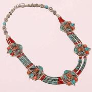 Italian Coral Necklace