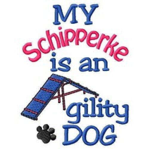 My Schipperke is An Agility Dog Sweatshirt - DC1866L Size S - XXL