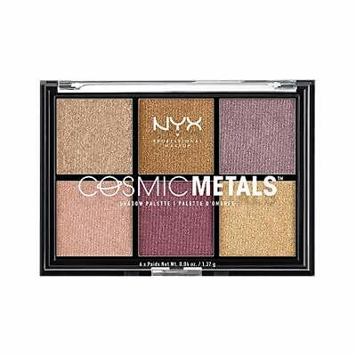 NYX Professional Make Up Cosmic Metals Palette Ombretti 6 Ombretti Metallizzati