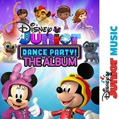 Various Artists - Disney Junior Music Dance Party (Various Artists) [New CD]