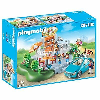 Playmobil City Life 5644 - Ice Cream Parlor - New and Sealed