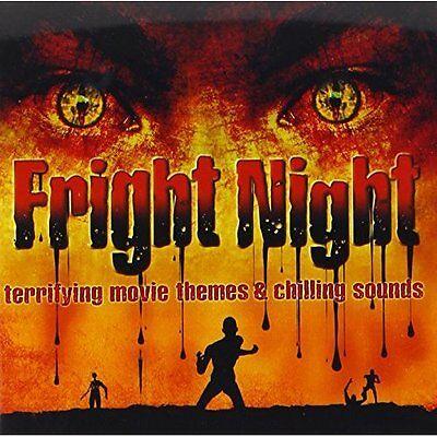 Fright Night On Audio CD Album Halloween Music Brand - Halloween Fright Night Cd