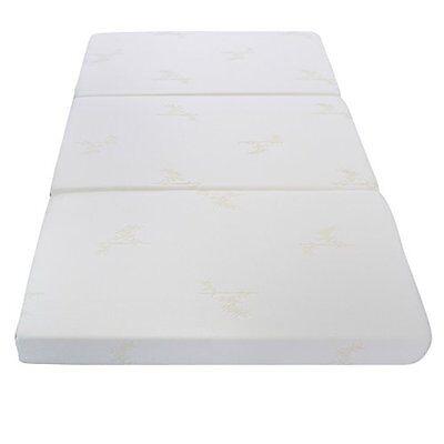 Milliard 4-Inch Tri-fold Foam Mattress with Ultra Soft Remov