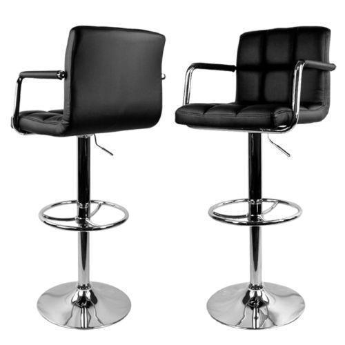 swivel bar stools arms ebay. Black Bedroom Furniture Sets. Home Design Ideas