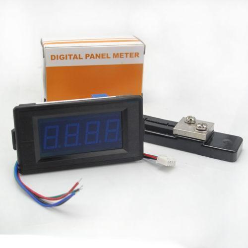 Digital Watt Meter Clamp : Dc amp meter ebay