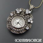 Sterling Silver Necklace Watches with Chain