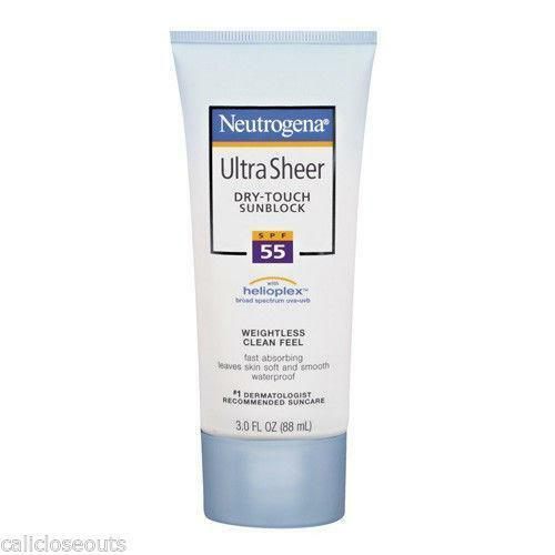 Neutrogena Sunblock: Sunscreen | eBay