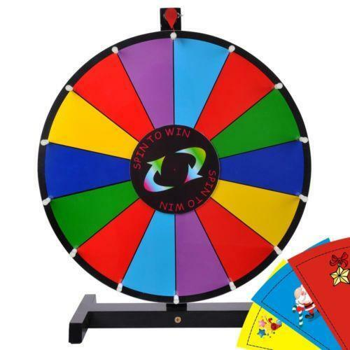 Spinning Game Wheel Ebay