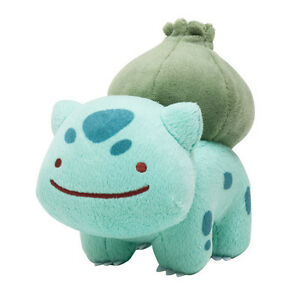 Cute Pokemon Plush 5in Bulbasaur Soft Toy Doll Stuffed Toy Xmas Gifts