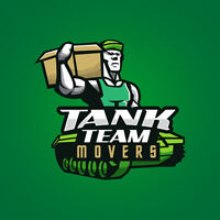 Tank Team Movers: $200 + 50/hr.