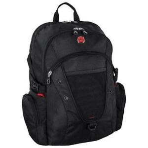 "SwissGear SWA2524 009 17.3"" Laptop Backpack - Black (New Other)"