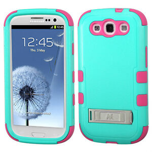 Samsung Galaxy S3 i747 Tuff Armor Hybrid Protector Cover Case