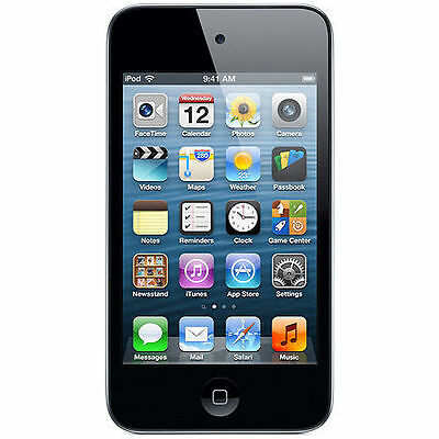 New iPod Touch 4th Generation 8 GB Black MP3 PLAYER 90 Days Warranty-Sealed