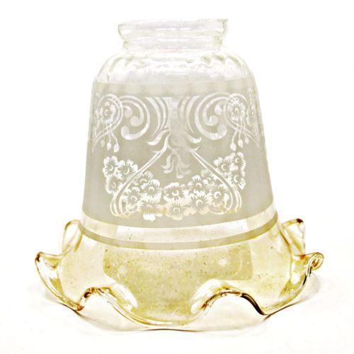 Amber Glass Globe Lamps Lighting Ebay