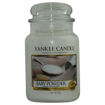 Yankee Candle By Yankee Candle Baby Powder Scented Large Jar 22 oz For Unisex