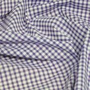 Purple Check Fabric