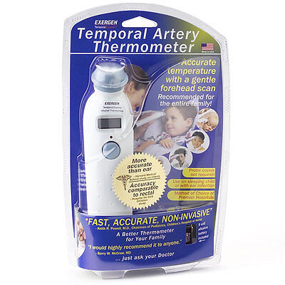 EXERGEN - Temporal Scanner - Temporal Artery Thermometer TAT-2000C NEW