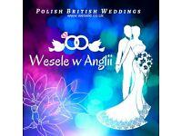 Polish British Wedding Services- bilingual MC/Speaker, DJ, Sound & Light, Catering, Photo London