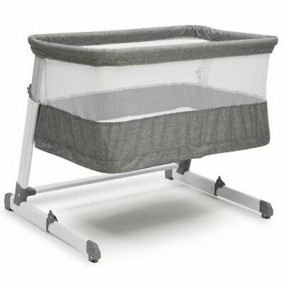 Beautyrest Room2Grow Bedside Newborn Bassinet to Infant Sleeper - Gray