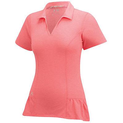 Adidas Mujer Tour Peplo Polo (S) B82726 Flash Rojo