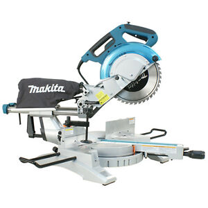 "Makita LS1018L - 10"" Dual Sliding Compound Mitre Saw With Laser"