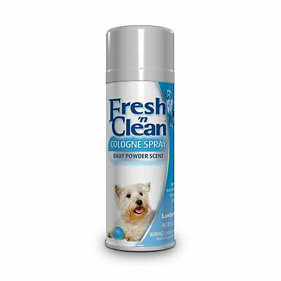 Fresh N Clean Cologne Baby Powder Scent Dog Spray