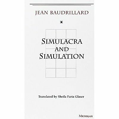 Simulacra and Simulation (The Body in Theory: Histories - Paperback NEW Baudrill