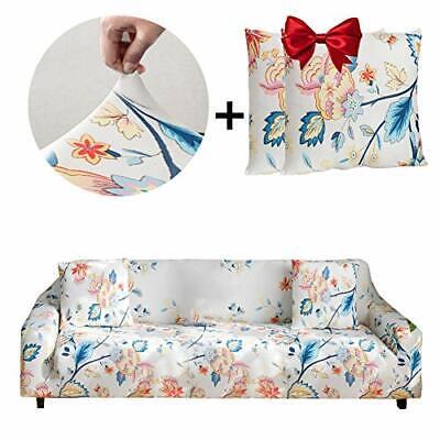 Elastischer Sofabezug 4 Sitzer Stretch Friheten Sofa Überwürfe Mode Klassisch
