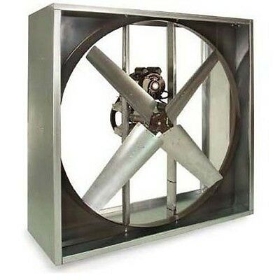 Exhaust Fan Industrial - Belt Drive - 24 - 115v - 12 Hp - 1 Phase - 4510 Cfm