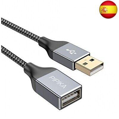 Cable Alargador USB 2.0 [3M] Cable Extension USB Tipo A Macho A...