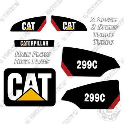 Caterpillar 299c Decal Kit Equipment Decals