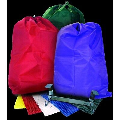 "HEAVY DUTY NYLON REUSABLE LAUNDRY BAG 22"" x 28"" CHOOSE COLOR GREAT FOR COLLEGE"