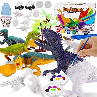 Magicfun Kit Pintura para Niños Figuras Dinosaurios para Pintar 36 Piezas Jug...
