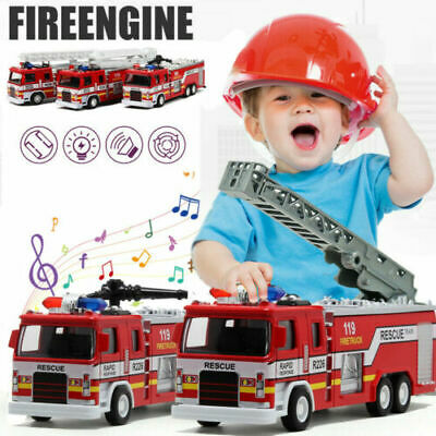 Car Toys For Kids (Toys for Boys Education Fire Truck Car 3 4 5 6 7 8 9 Year Age Kids Xmas Gift)