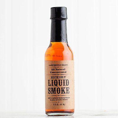 Lazy Kettle Hickory Liquid Smoke - 5 oz bottle